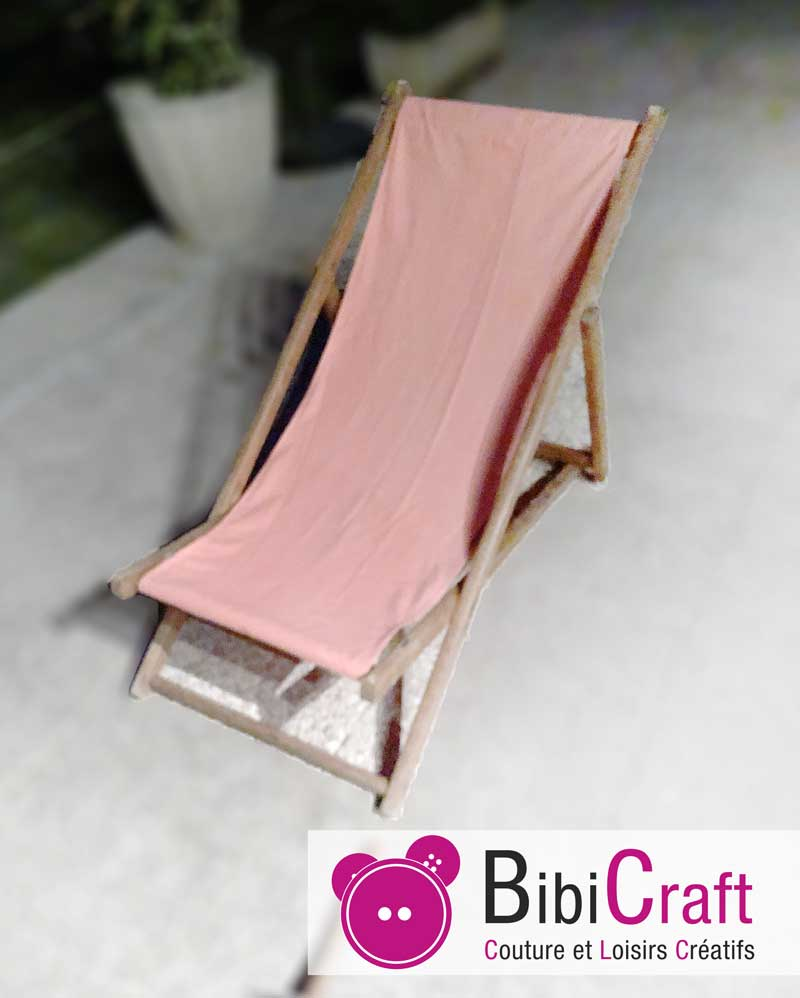 Restaurer une chaise longue