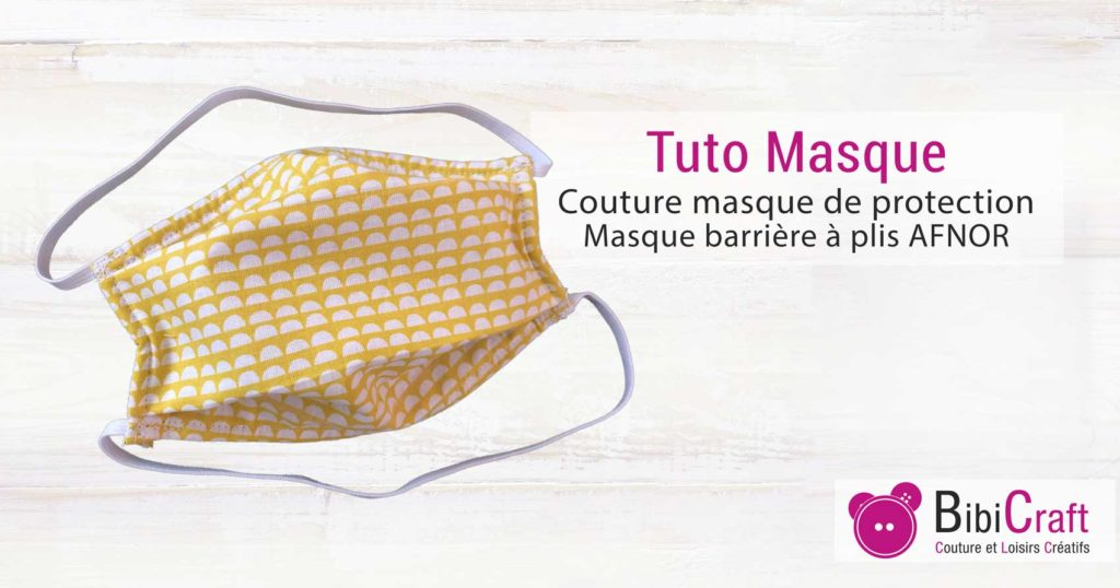 tuto masque protection barriere